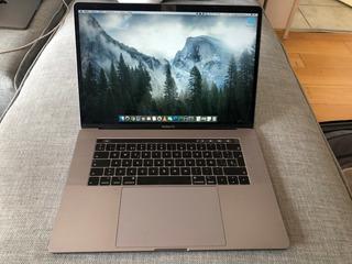 Macbook Pro Touch Bar 15 I9 16gb Ram 512gb Ssd Casi Nueva