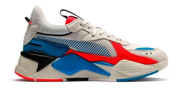 Tenis Puma Rsx System Crema + Obsequio