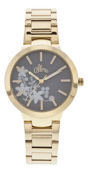 Relógio Allora Feminino Al2036ci/4c Dourado