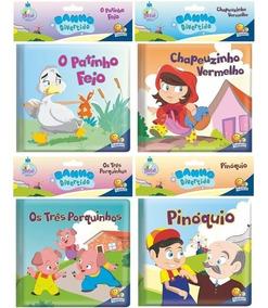 Primeiro Livro Do Bebê Banho Divertido 4 Histórias Clássicas