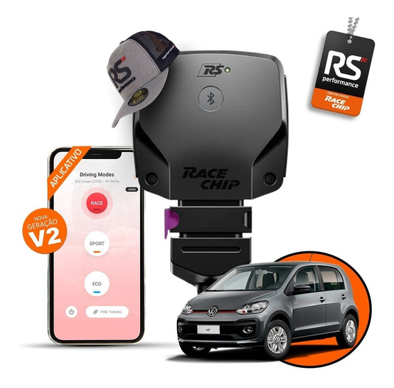 Racechip Vw Up! Tsi 1.0 Chip De Potência Rs V2 + Aplicativo