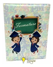 Album Formatura Infantil 15x21 - 20 Fotos - 16 Unidades