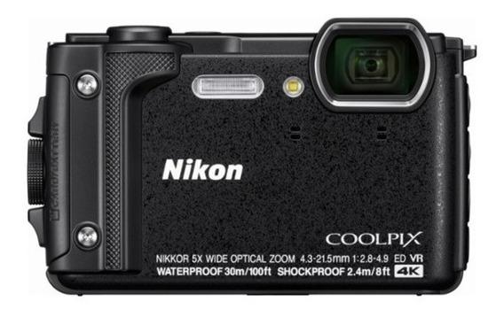 Câmera Digital Nikon Coolpix W300 Tela 3.0 Zoom 35x + Cartão