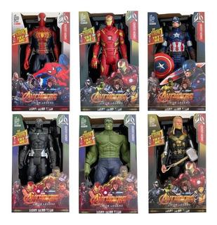 Muñecos Avengers Infinity War 30 Cm Sonido Thor Spiderman