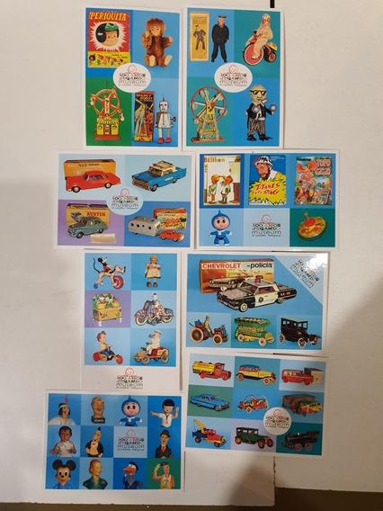 8 Postales Del Museo Del Juguete- Nuevas - Lote 2
