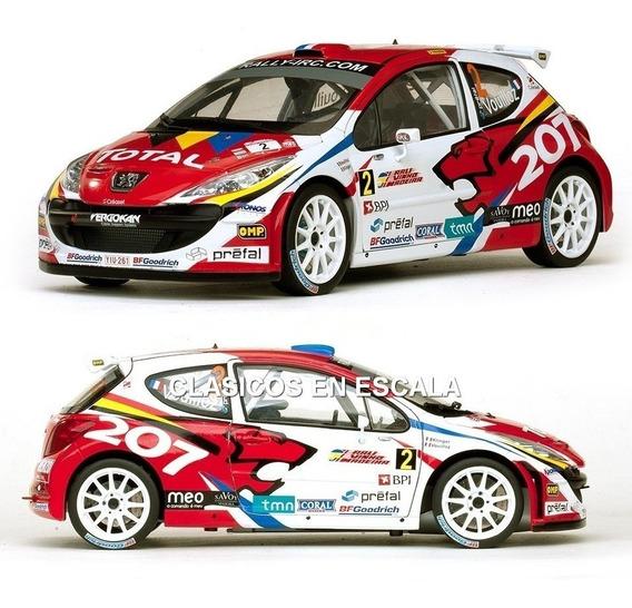 Peugeot 207 S2000 Win Irc Champ. 2008 - Rally Sun Star 1/18
