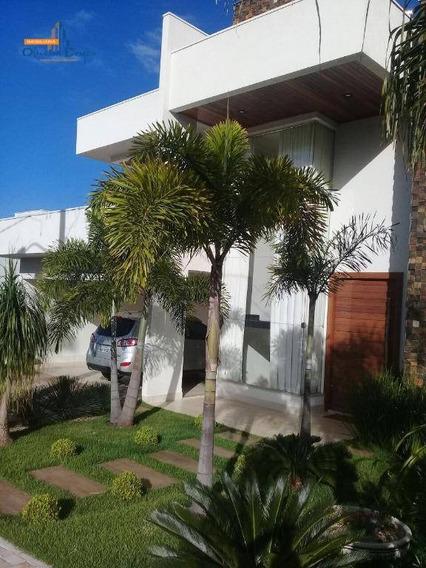 Sobrado Com 4 Dormitórios À Venda, 300 M² Por R$ 1.900.000,00 - Residencial Anaville - Anápolis/go - So0080