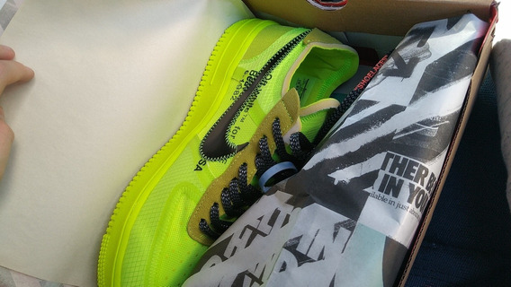 Air Force 1 X Off White Volt Dswt