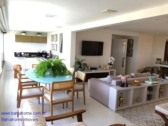 Apartamento Para Vender No Greenville Lumno Com 225m², 3 Suítes Com Home Office- Patamares - Salvador - Ba - Ap00894ces