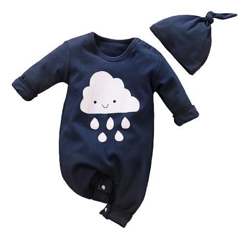 Mameluco Niño Azul De Nube