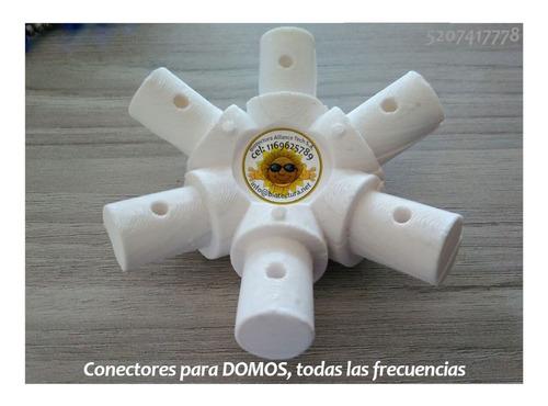 Kit Para Auto Construcción De Domos, Conectores 5 Y 6 Puntas