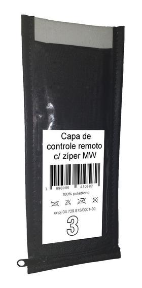 Capa De Controle Remoto Com Zíper (4 Capas Almofadadas)