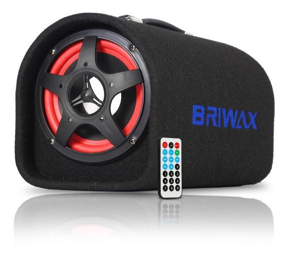 Caixa Som Automotivo Pronta Bluetooth Usb Amplificada 100w