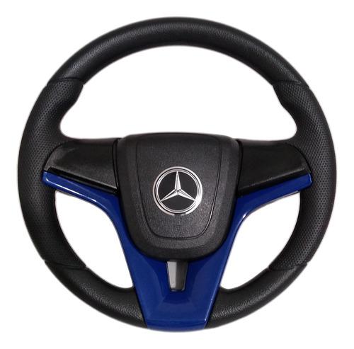 Volante Esportivo Caminhão Mercedes-benz Cruze Azul Mb 2831