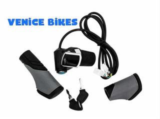 Acelerador Com Chave P/ Bicicleta Elétrica Scooter 2012/19