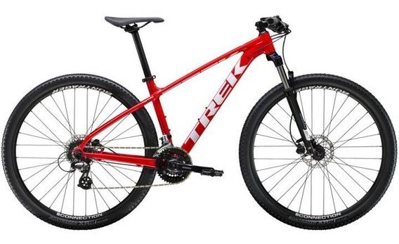 Bicicleta Trek Marlin 6 Rodado 29 Roja