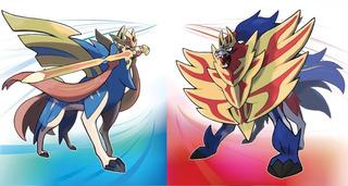 Pokemon Espada Y Escudo Legendarios Zacian, Zamazenta Y Mew