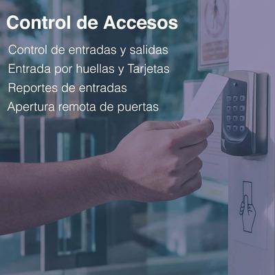 Control De Acceso, Cerradura, Control De Entradas Y Salidas