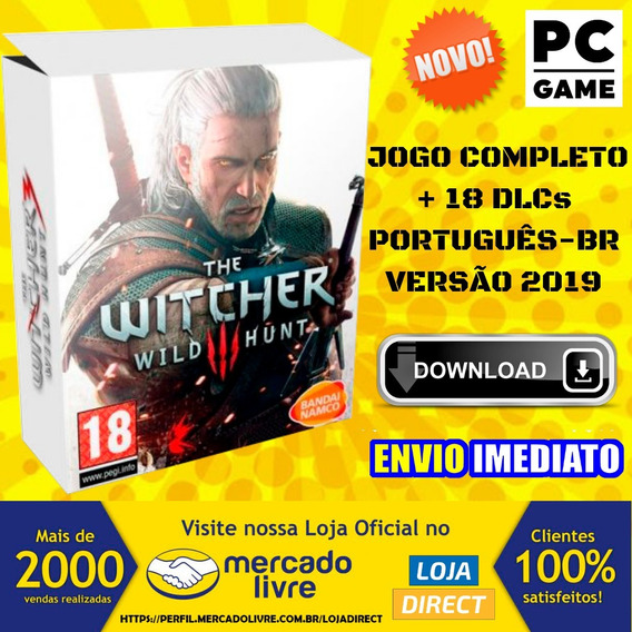 The Witcher 3 Wild Hunt Pc - Português-br - Jogo Digital