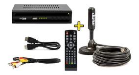 Conversor De Tv Sinal Digital Isdb-t + Antena