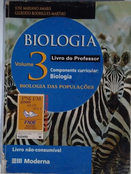 Biologia Vol. 3 Biologia Das Populações Livro Do Professor
