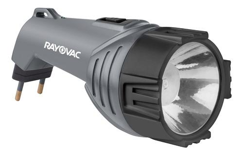 Imagem 1 de 6 de Lanterna Recarregável Super Led Mini Rayovac Bivolt 1w 35lm