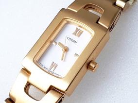 Relógio Citizen Quartz 5930 Gold Feminino - Novo - Raridade
