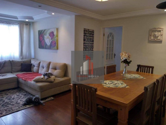 Apartamento Com 3 Dormitórios À Venda, 90 M² Por R$ 450.000 - Freguesia Do Ó - São Paulo/sp - Ap0016