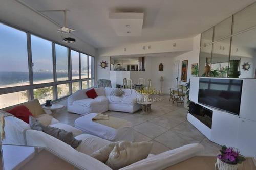 Imagem 1 de 19 de Apartamento Residencial Para Locação, Leme, Rio De Janeiro. - Ap2801