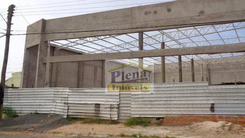 Barracão  Comercial Para Locação, Jardim Das Palmeiras, Sumaré. - Ba0150