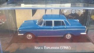Carros Inesqueciveis Brasil 1/43 Simca Esplanada 1966