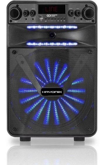 Caixa De Som Multiuso Hayonik Go! Power 200 - 100w Rms