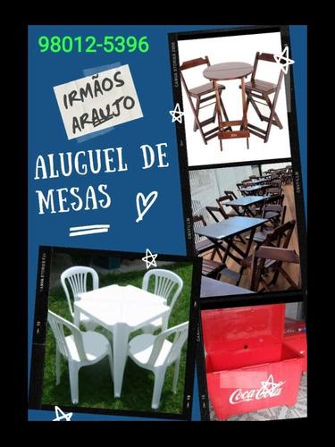 Imagem 1 de 3 de Aluguel De Mesas E Térmicos Em Duque De Caxias Irmãos Araújo