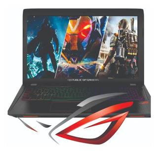 Gl553 Notebook Asus Rog I7 7700hq 16g 1t+256ssd 1050ti 4gb