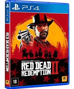 Red Dead Redemption 2 Ps4 Mídia Física Red Dead 2ps4 Rdr2