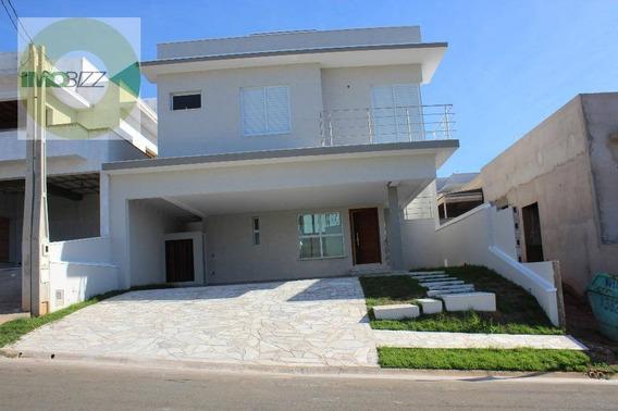 Casa Com 3 Dormitórios À Venda, 222 M² Por R$ 970.000 - Condomínio Le Village - Valinhos/sp - Ca2007