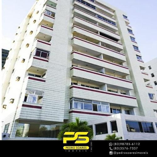Apartamento Com 2 Dormitórios À Venda, 124 M² Por R$ 280.000 - Manaíra - João Pessoa/pb - Ap4001