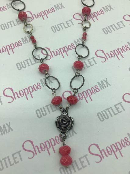 Rose Maroon Collar Dama