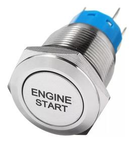 Botao 12v Start Engine On Off Liga Desliga Motor Tuning Car
