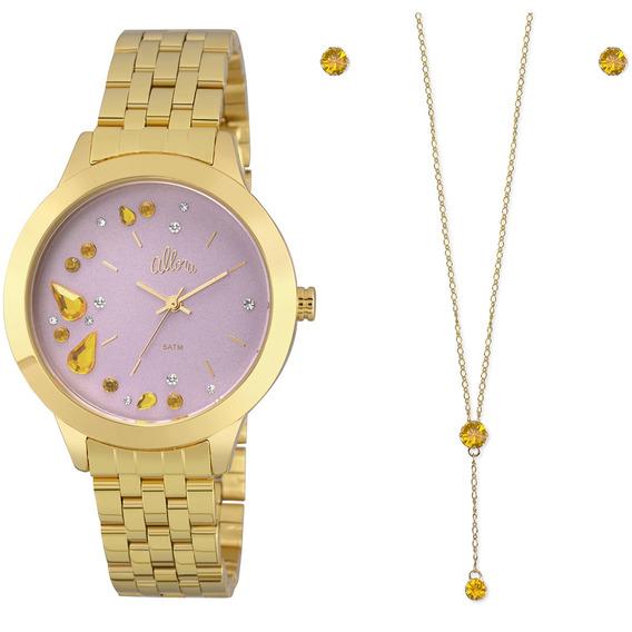 Relógio Allora Feminino Al2036fgn/k4q