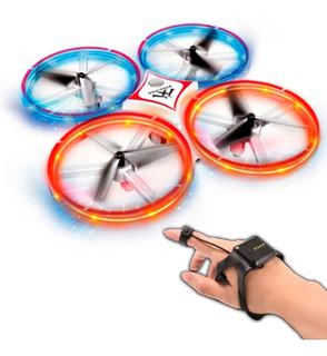 Drone Vak 1841 Control Por Mano Elude Obstaculos Acrobacias