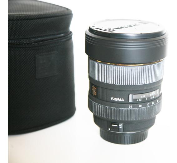Lente Sigma Canon Dg 12-24mm F4.5-5.6 Ii