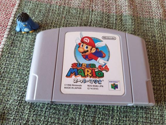 Nintendo 64 Super Mario 64 Original Japonês