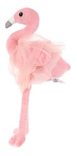 Pelúcia De Flamingo Miniso - Cor Rosa