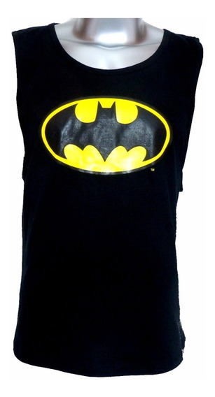 Playera Batman Sin Mangas Original Dc Comics