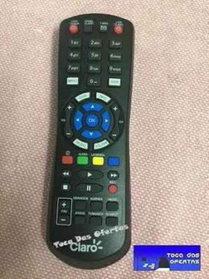 Controle Claro Tv Hd