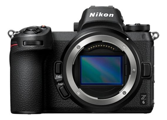 Nikon Z6 mirrorless cor preto
