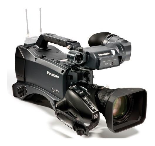 Filmadora Profissional Full Hd Panasonic Ag-hpx370 Completa