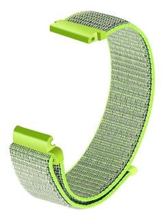 Malla Para Fitbit Versa Nylon Tejido