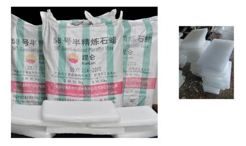 Parafina Blanca China * 50 Kilos Bulto